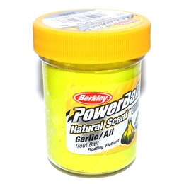 Berkley Trout Bait Glitter Sunshine Yellow Knoblauch - 50g