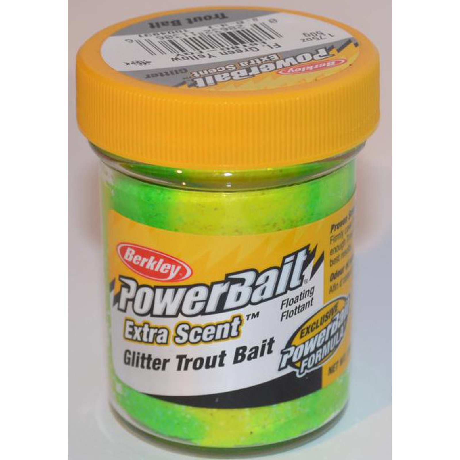 Berkley Trout Bait Fluo Green Yellow Glitter - 50g