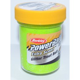 Berkley Trout Bait Extra Scent Glitter Chartreuse - 50g