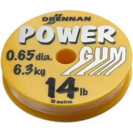 Drennan Powergum transparent 14lbs 6,3kg 0,65mm 10m