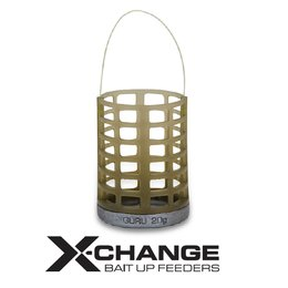 GURU X-Change Bait Up Feeder Medium 20g+30g Cage