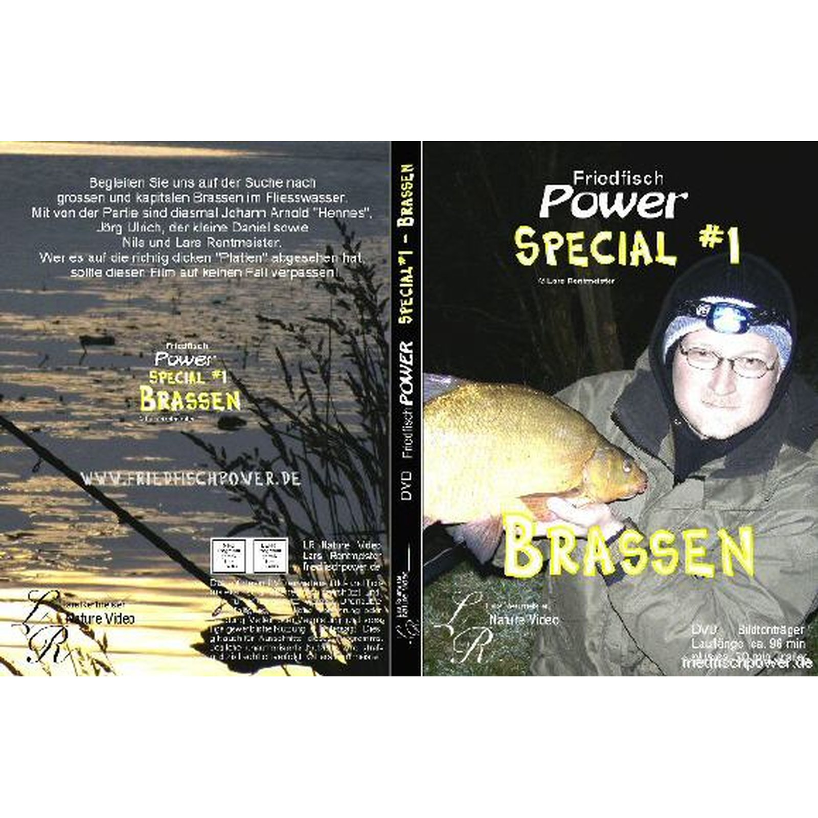 Friedfisch Power Special #1 - Brassen - DVD