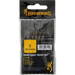 Browning Feeder-Vorfach Trophy Fish Madenring - 75cm 6 St...